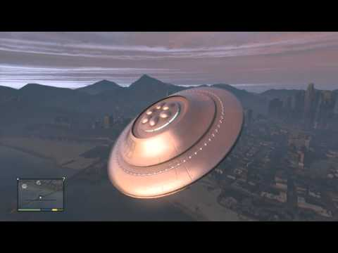 GTA 5 mod lets you pilot a flying saucer