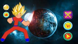 Dragon ball stickman FIGHT! | God of Stickman 3
