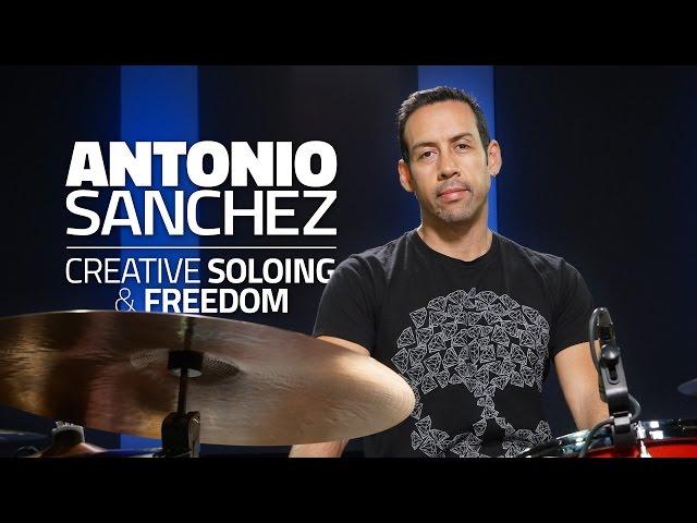 Antonio Sanchez - Creative Soloing & Freedom (FULL DRUM LESSON)