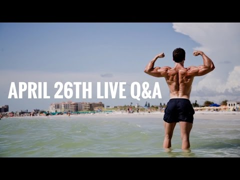 April 26th LIVE Q&A