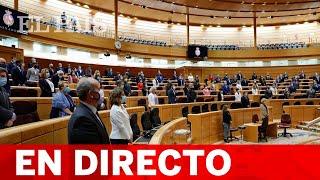 DIRECTO | SESIÓN DE CONTROL al Gobierno en el SENADO