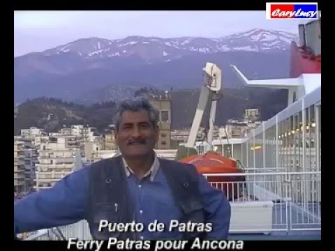 ferry de patras direction ancona de grece l 39 italy youtube. Black Bedroom Furniture Sets. Home Design Ideas