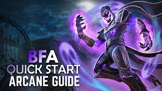 BFA - Arcane Mage | Full DPS Guide 8 0 1 [Basics PvE