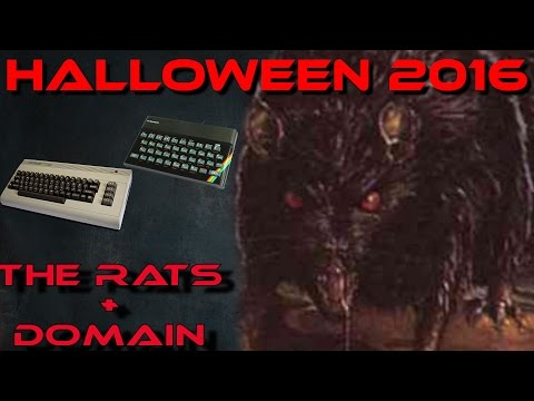 Halloween Special 2016 - The Rats & Domain for C64 / Spectrum
