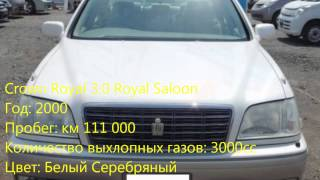 Продажи подержанных автомобилей Toyota Crown Royal