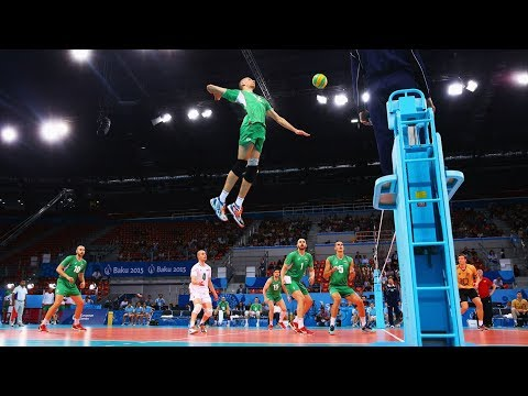 TOP 20 Monster Volleyball Spikes | Back Set Spikes | (HD)