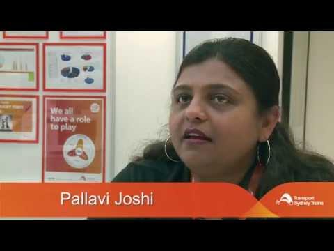 Rail Careers Week Profile -  Pallavi Joshi, Sydney Trains
