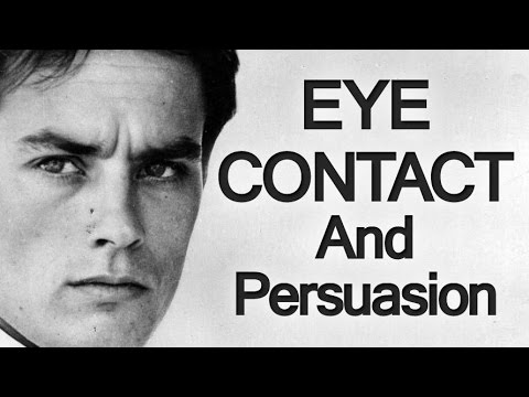 Persuasive Eye Contact | Men's Eyes & Power Projection | Eye Contact and Persuasion