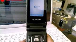 Samsung Rugby II A847 Unlocking Instructions