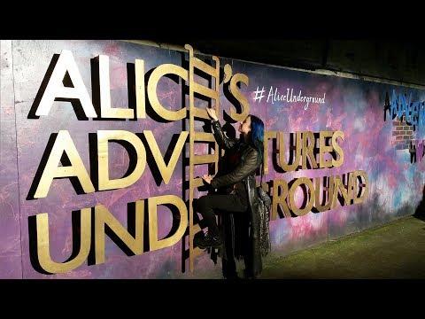 I went to Alice's Adventures Underground in London (Wonderland Sequel)
