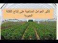 1#ثانوي #تأثير العوامل المناخية على إنتاج الكتلة الحيوية