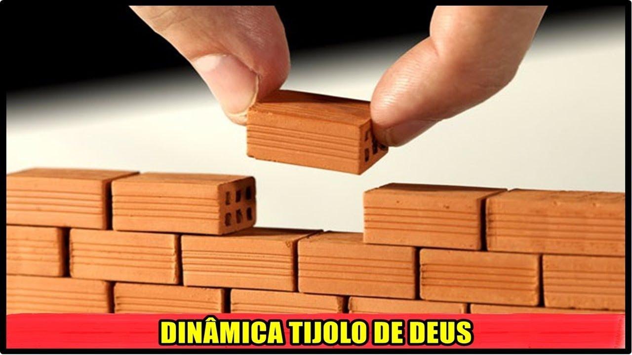 SOMOS O TIJOLO DE DEUS - DINÂMICA | QUEBRA GELO PARA CÉLULA