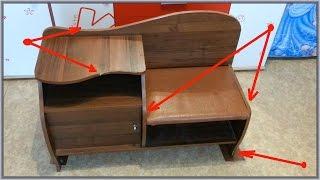видео Ремонт мебели