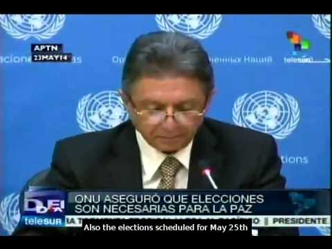 Ukrainian presidential election could solve the crisis: UN