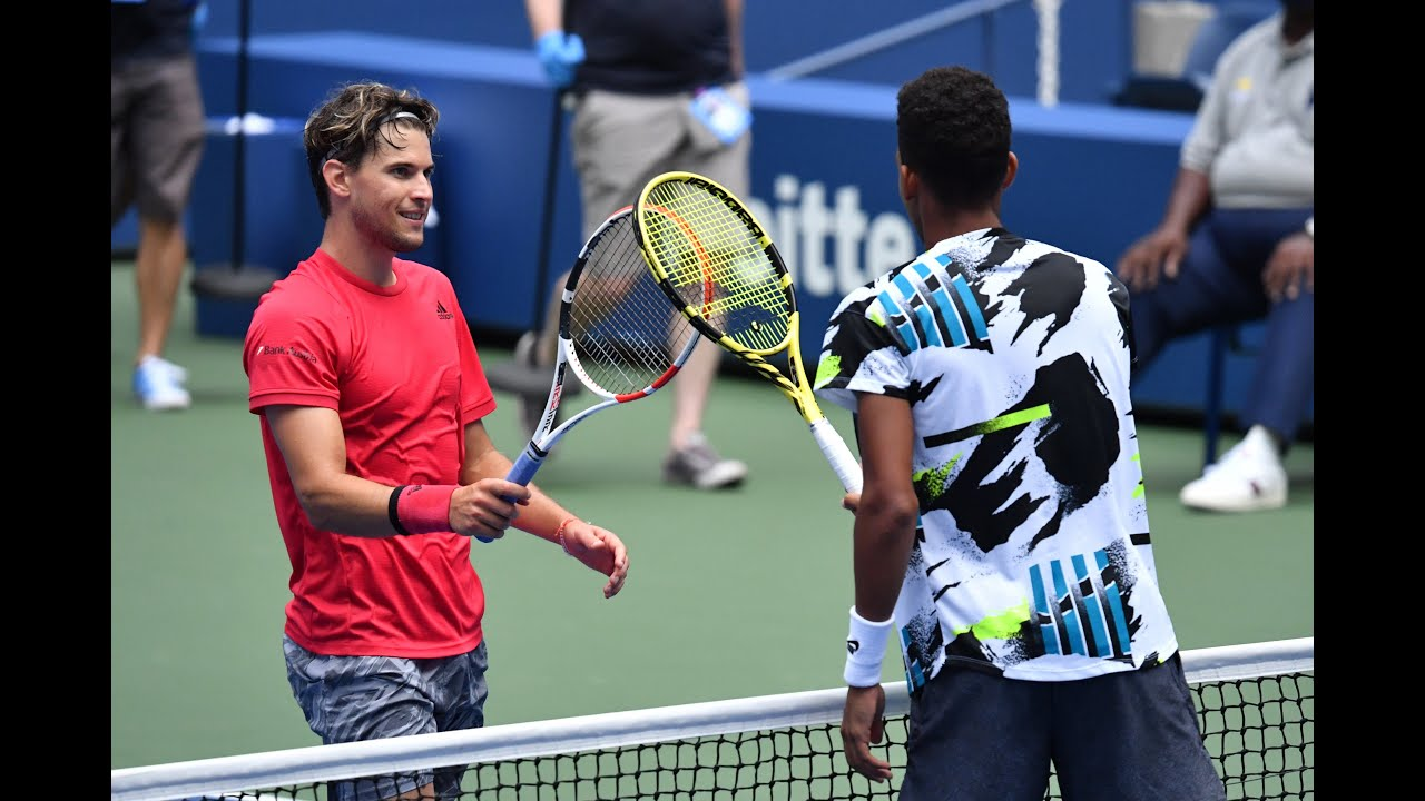 Felix Auger-Aliassime vs Dominic Thiem Extended Highlights | US Open 2020 Round 4