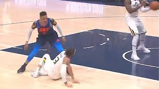 Russell Westbrook Bullies Ricky Rubio Then Exchanges Words With Jae Crowder! 73aa450e8