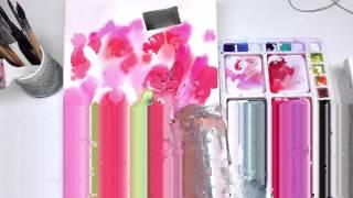 Рисуем акварелью: Натюрморт с цветами — kalachevaschool.ru