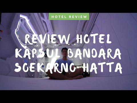 Review Hotel Kapsul Bandara Soekarno Hatta! Hotel Kapsul Canggih 198 Ribuan!