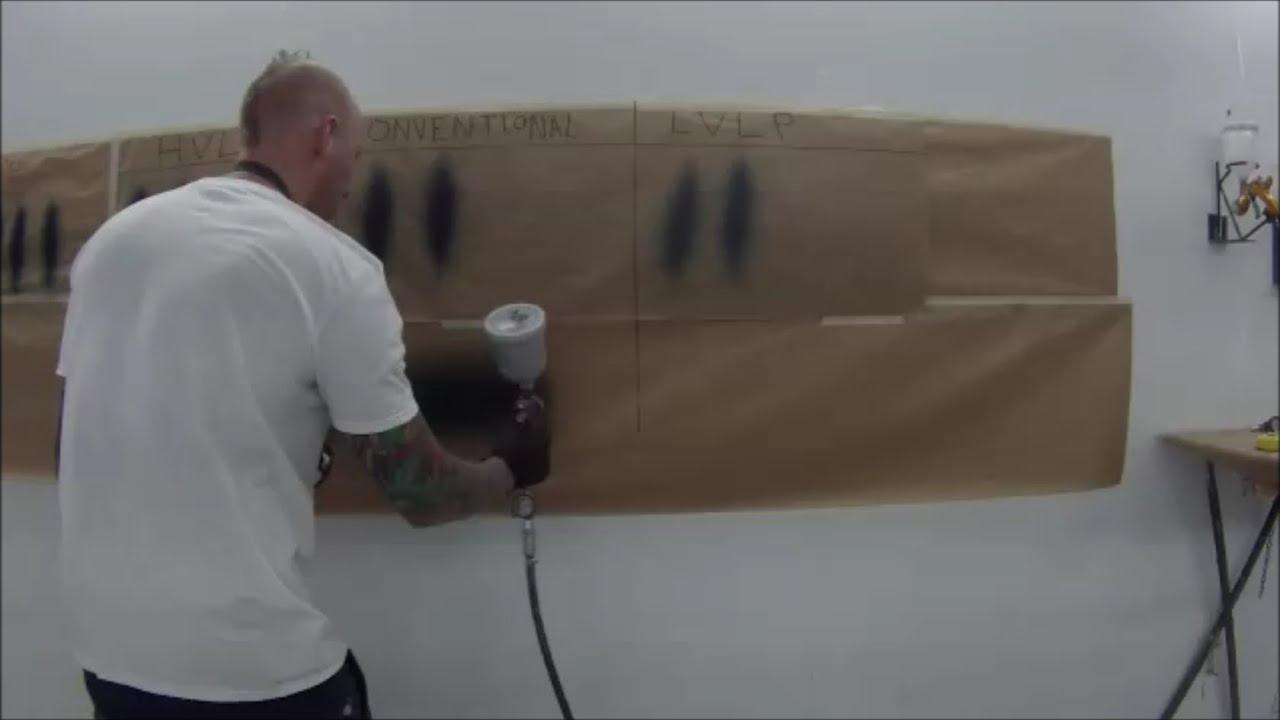 Spray Gun Air Pressure Settings Youtube
