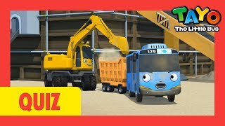 Tayo the strong heavy vehicles quiz l Tayo's Sing Along Show 1 l Tayo the Little Bus