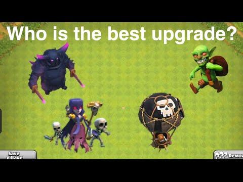 Best Troop Upgrade In Clash Of Clans