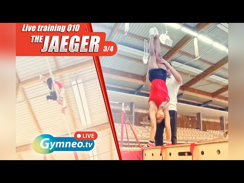 Excerpt From The GymneoLive 010 Training: Start Learning The Jaeger On Uneven Bars
