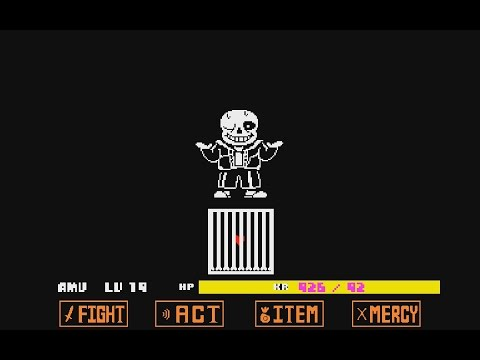 Undertale Waters of Megalovania ingame