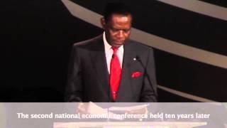 President Obiang Addresses Equatorial Guinea