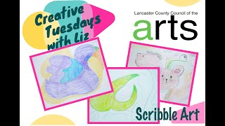 Creative Tuesdays with Liz: Scribble Art