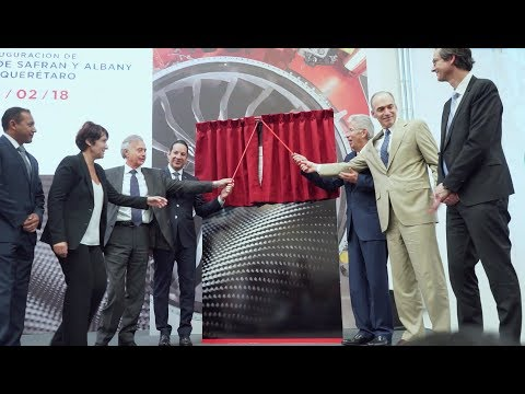 Safran and Albany inaugurated third composite fan blade production plant for LEAP engine, in Mexico
