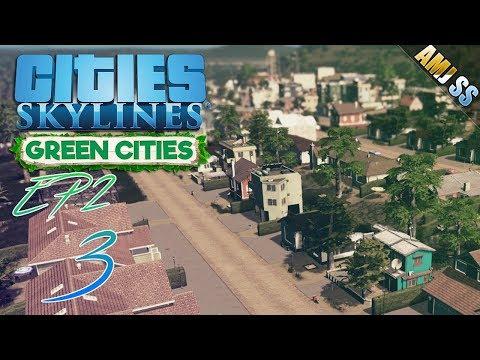 Cities: Skylines - Green Cities[3]#โซนคันทรีในป่าใหญ่