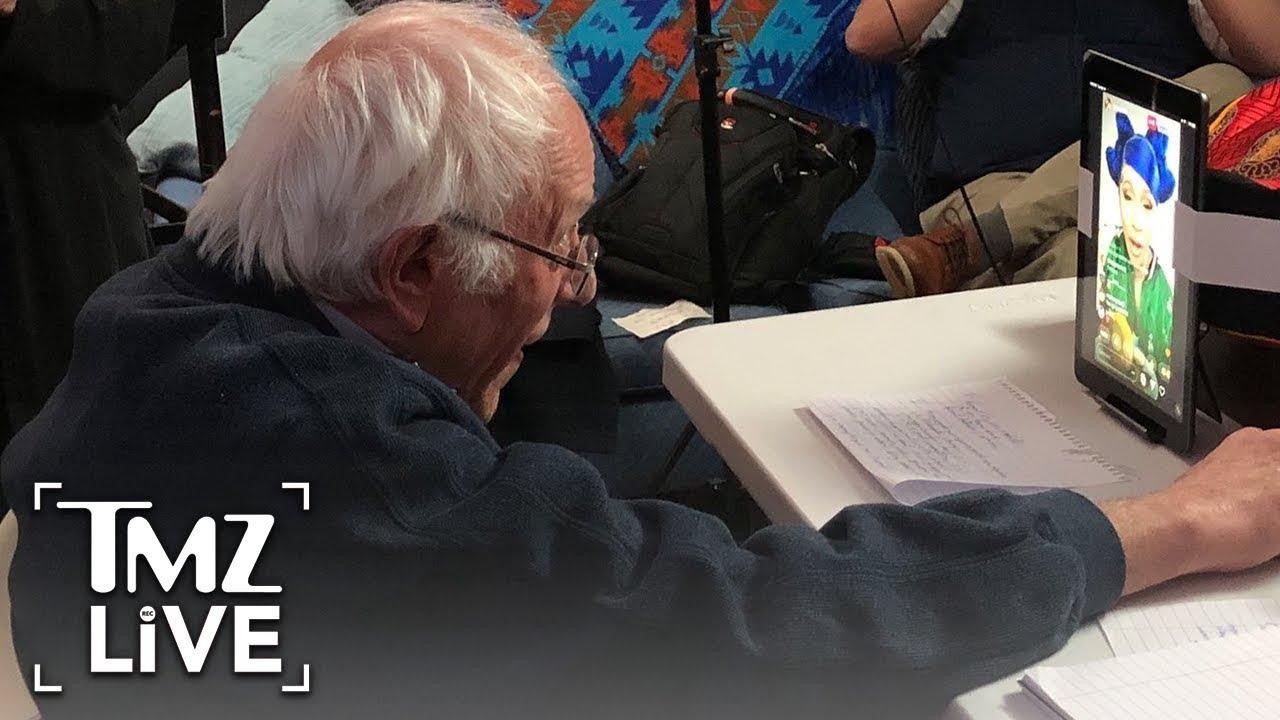 Cardi B & Bernie Sanders Talk Trump On IG   TMZ Live