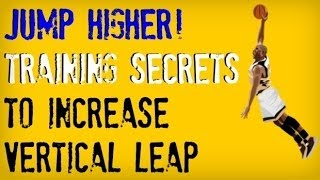 How to Jump Higher FAST   Exercises to Jump Higher and Dunk a Basketball   Improve Vertical Leap