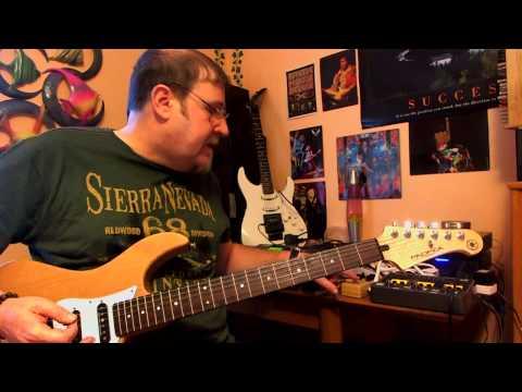 Demo of Yamaha pacifica 112 v with Seymour Duncan SH4 JB