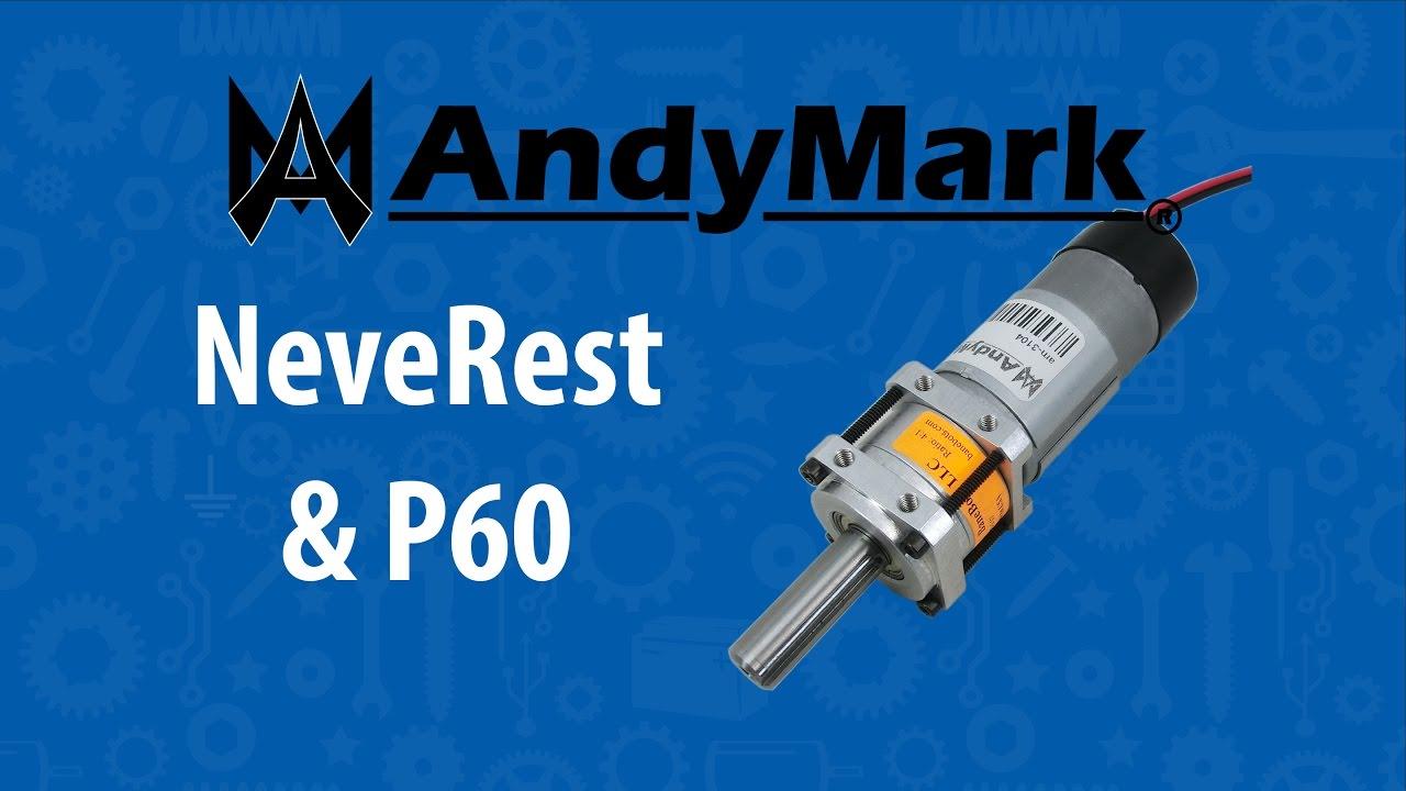 AndyMark NeveRest Motors | FTC Tricks