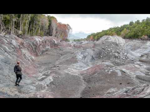 Volcan Calbuco Lahar