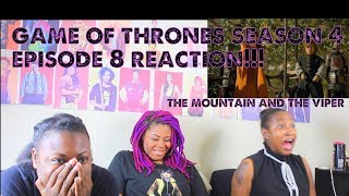 Game of Thrones Season 4 Episode 8 REACTION!!! The Mountain and the Viper