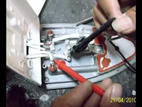Reparaci n de una plancha youtube - Como reparar una vitroceramica ...