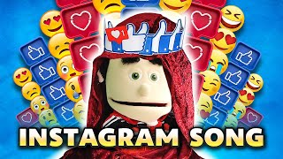 INSTAGRAM Song - Puppets Show | Puppets Music Video