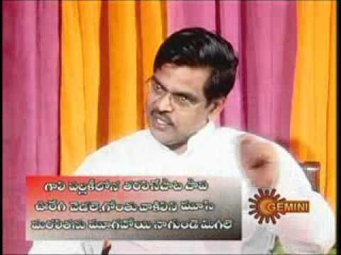 "Sirivennela talks about ""Jagamanta Kutumbam Naadi"""