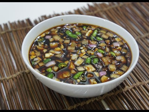 🍚🐉 Asian Soy Dipping Sauce Recipe - So Simple Easy n Fast Delicious