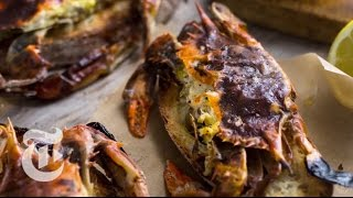 Soft-Shell Crab Toasts | Melissa Clark Recipes | The New York Times