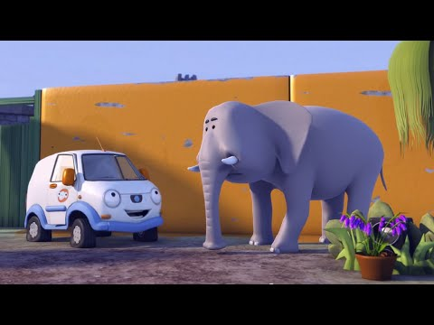 Олли Веселый грузовичок - Мультик про машинки - Олли в зоопарке - Серия 51 (Full HD)