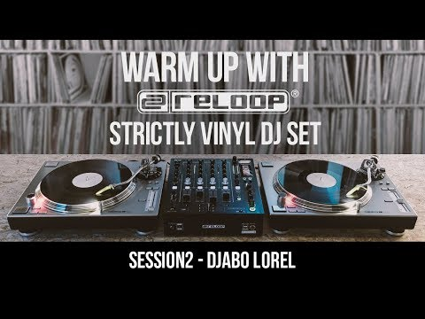 Strictly Vinyl DJ Set - Funk/Electro House Live Session w/ Djabo Lorel (Warm Up With Reloop 02)