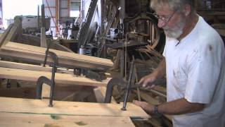 "George Butler Building Wooden Deadrise Skiff - From Film ""oysters, Boats, And Men"""