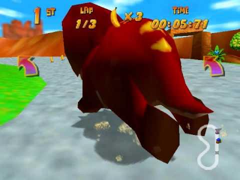 Diddy Kong Racing Cheating Fun