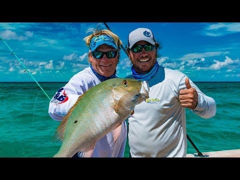 Chub Cay Bahamas Deep Sea Fishing Mahi Mahi Mutton Snapper - 4K
