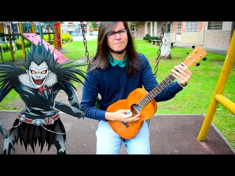 "Death Note Opening 2 - ""What's up, people?!"" by Maximum the Hormone【Ukulele Cover】"
