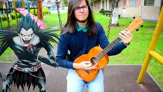 death note opening 2 quotwhat39s up people?quot by maximum the hormone【ukulele cover】