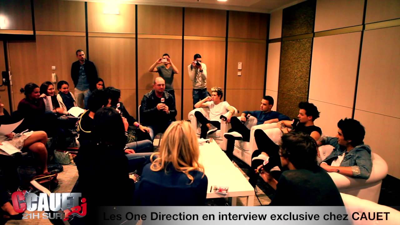 Rencontre one direction sur nrj